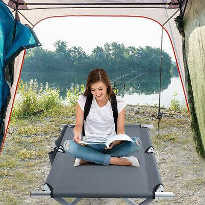 Folding Camp Bed W/Carry for Beach Traveling