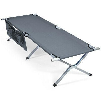 Folding Camp Bed W/Carry for