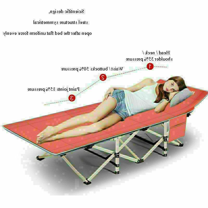 Portable Camping w/Mattress & Military Sleeping Cot