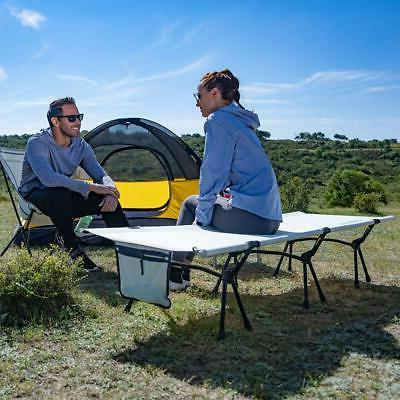 FUNDANGO Folding Camping for Ultralight Single BedAluminum
