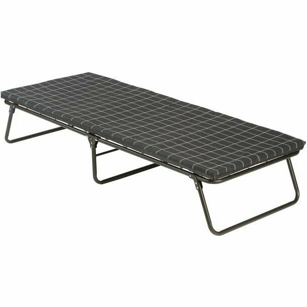folding comfortsmart deluxe camp cot with sleeping