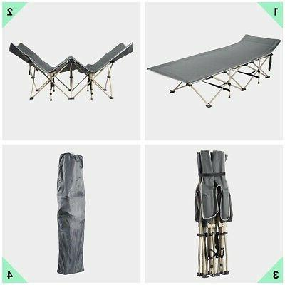 Folding Bed with Carrying Bag