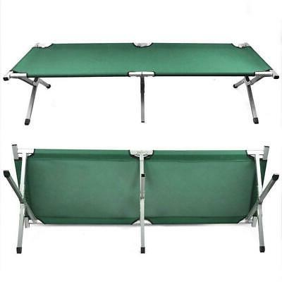 Green Bed, Folding, Portable Military