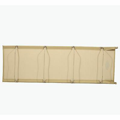 Compact Light Bed Cot, Tan