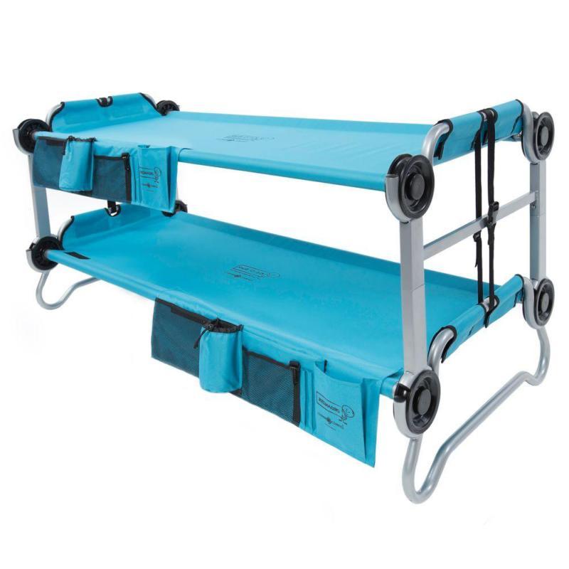 kid o bunk 65 in teal blue