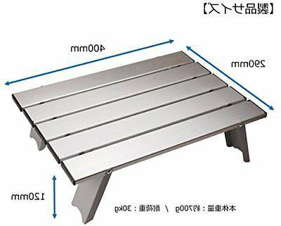 CAPTAIN folding with aluminum table case