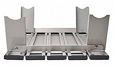 CAPTAIN STAG folding aluminum roll table