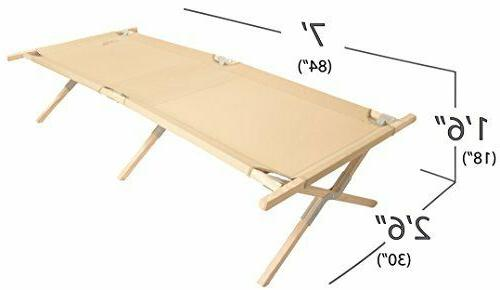 BYER OF Heritage Cot Large Holds Folding