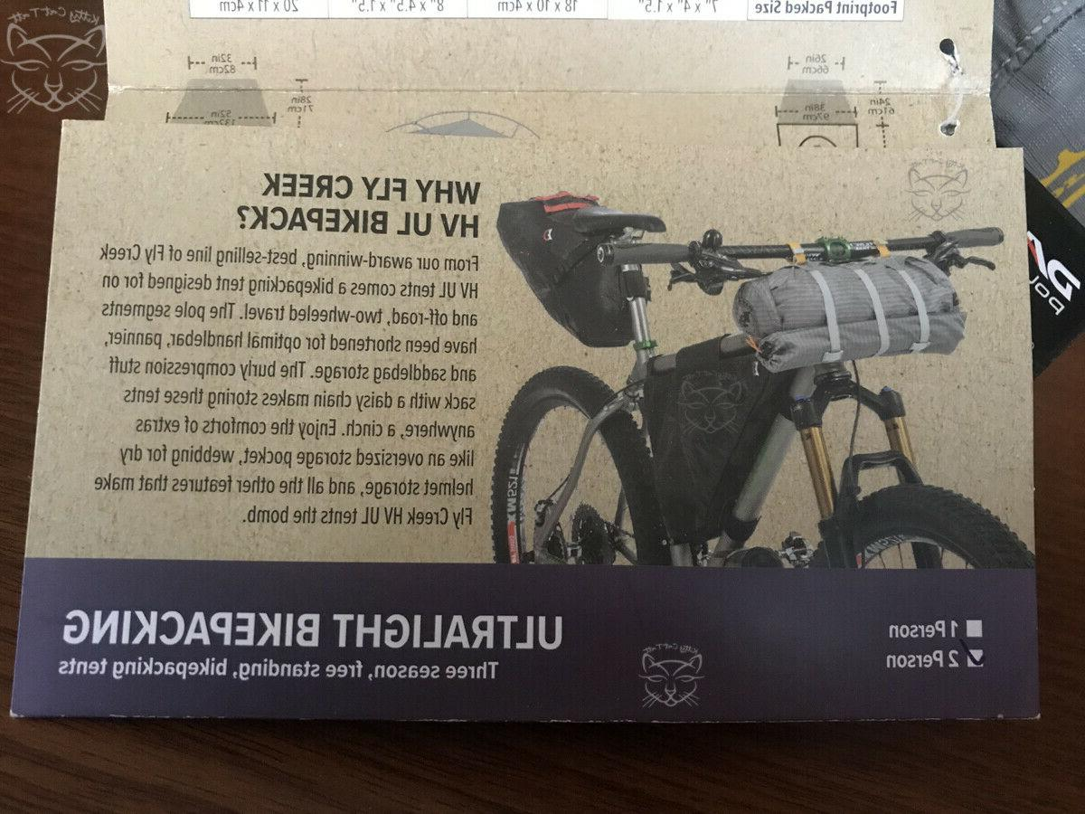 NEW ~ Big FLY Bikepack ultra person w/
