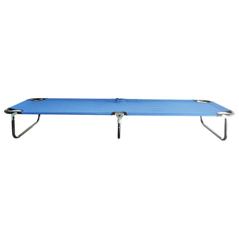 Outdoor Bed Cot Patio Hiking Chaise Lounge
