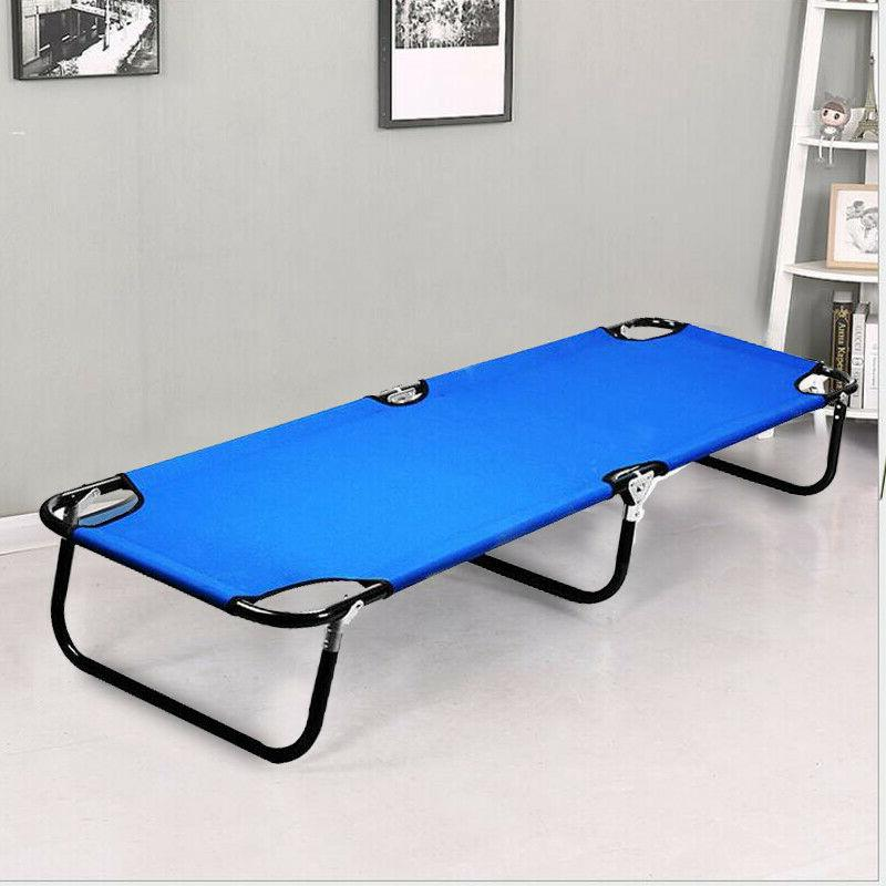 outdoor folding bed camping cot patio hiking