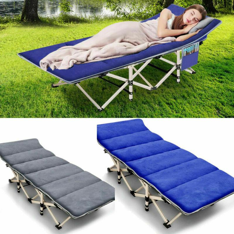 portable folding camping cot hiking office nap