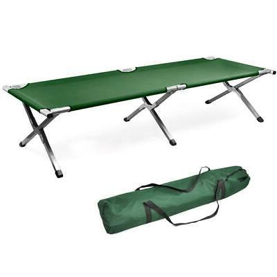 portable military folding bed cot sleeping outdoor