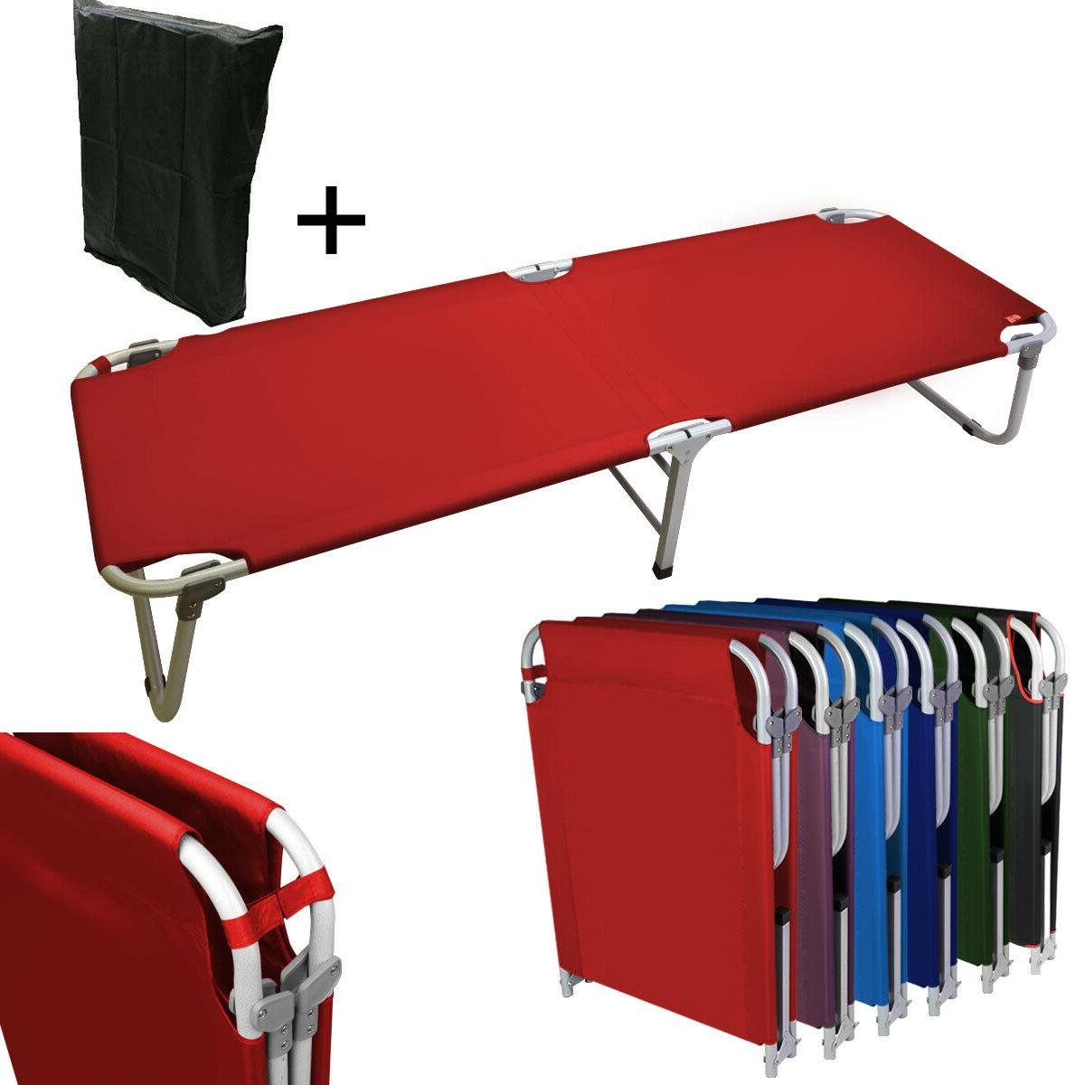 portable w military cots fold