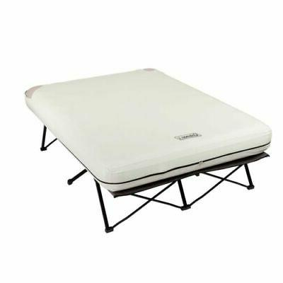 Queen Airbed Cot Guest Beds Folding Portable Camping Hammock