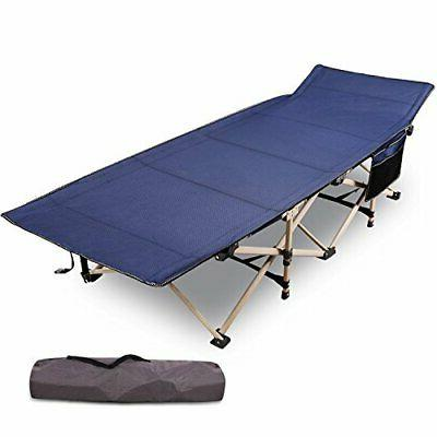 """REDCAMP Folding Camping Cots for Adults Heavy Duty 28"""" Extra"""