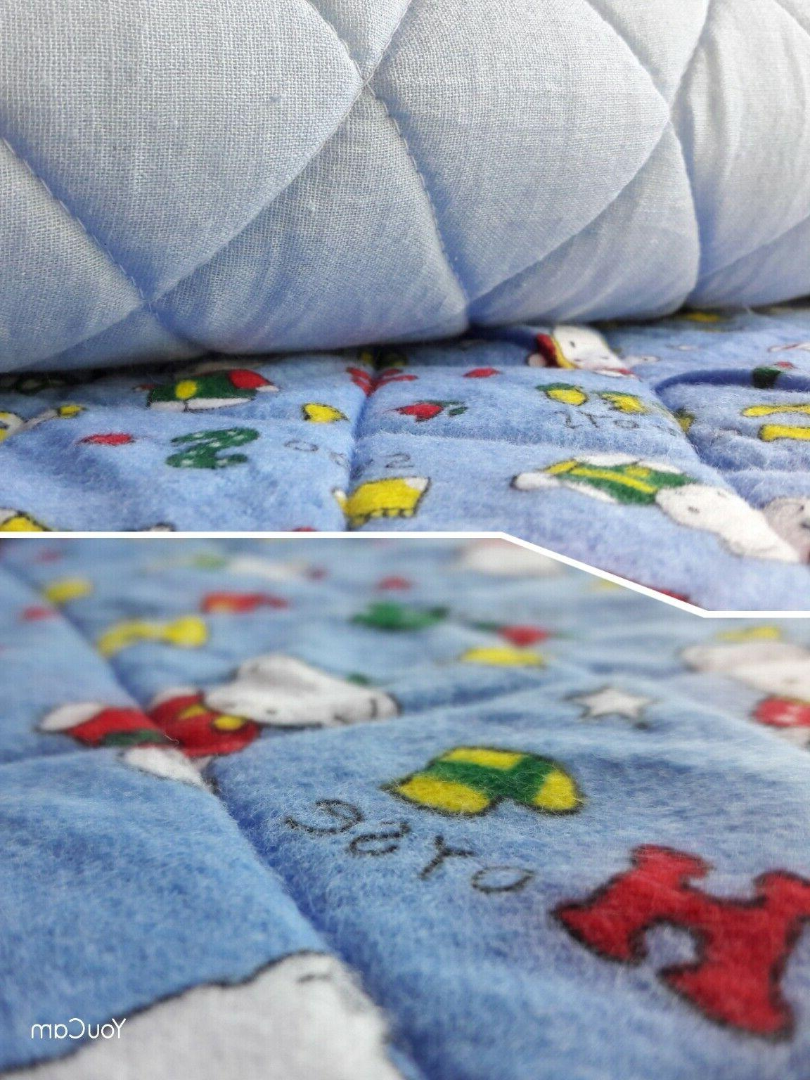 Sponge TRAVEL SHEET Nursery Bedding Printed Design Gift