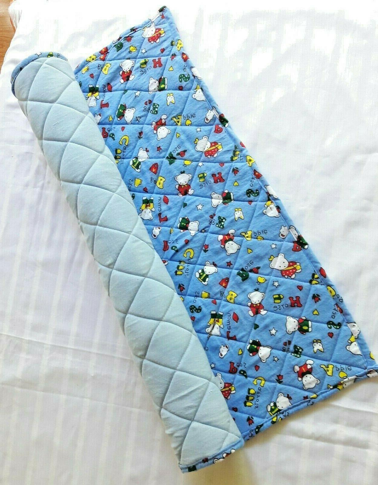 sponge baby travel cot sheet nursery bedding