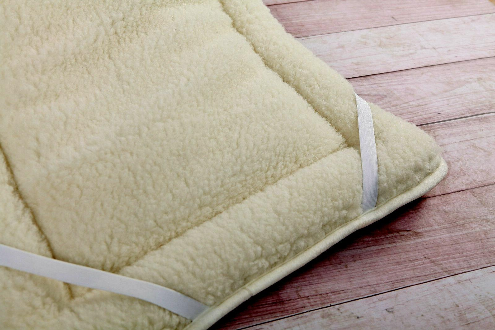 thick perugiano natural mattress topper bed cover