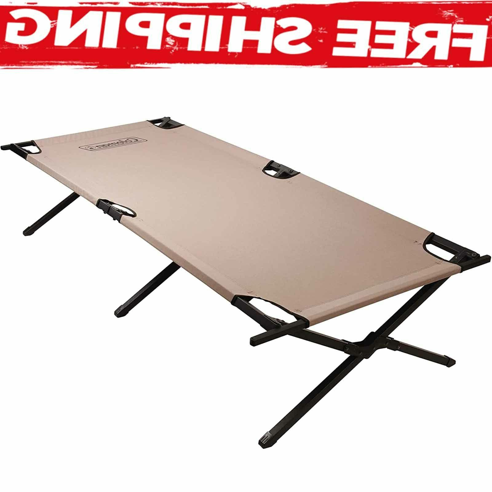 Trailhead Cot Extra Wide Camping Outdoor Sleeping Room Heavy