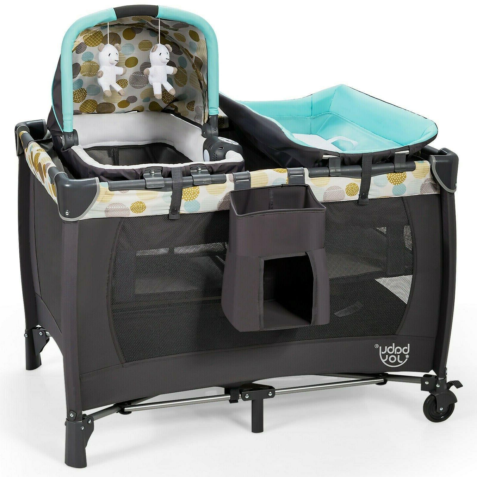 travel baby crib cot nursery center playard