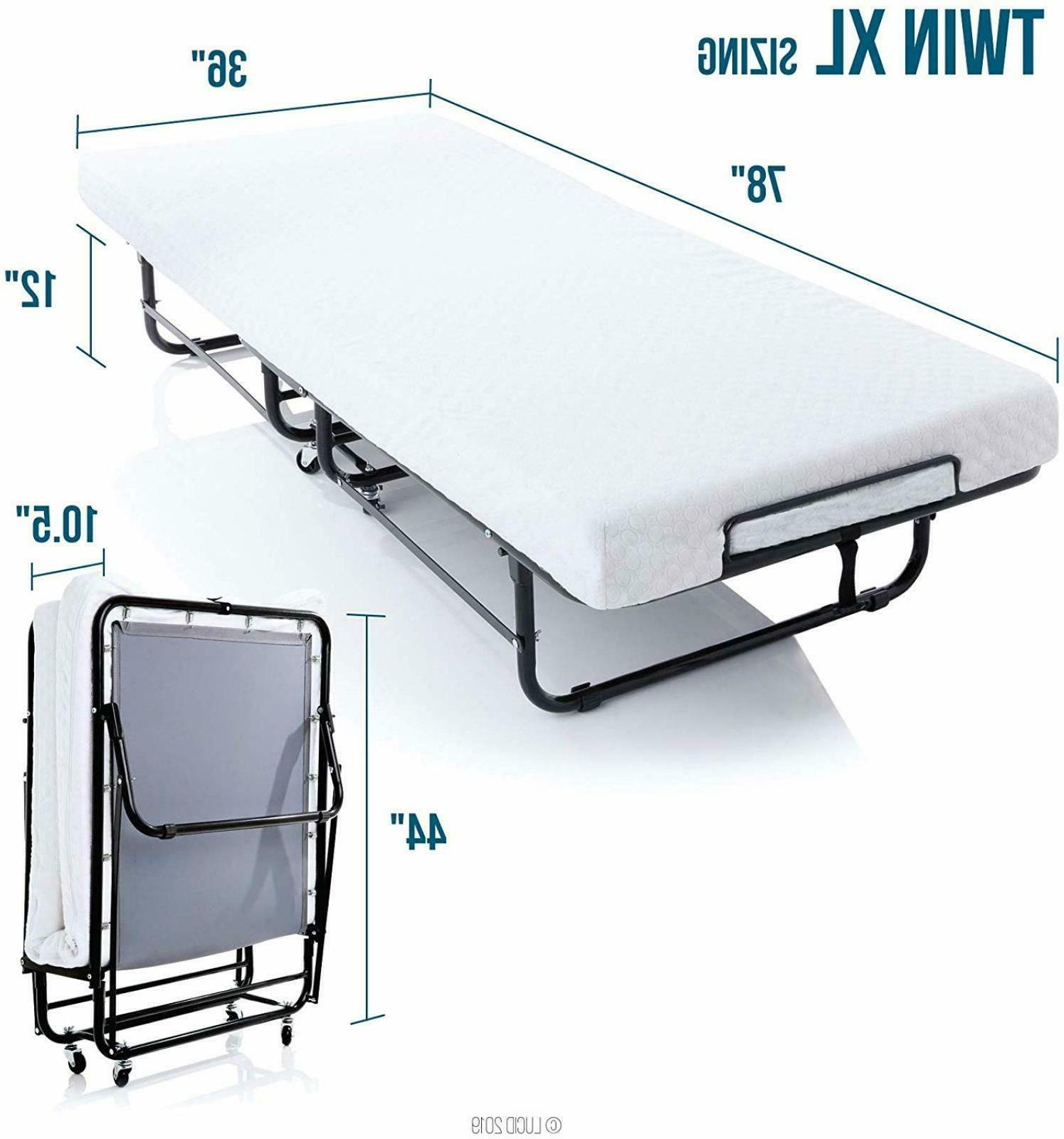 twin xl guest bed folding w memory