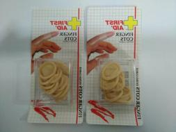 Lot of 2 First Aid Finger Cots 12 Each  extra large NEW apot