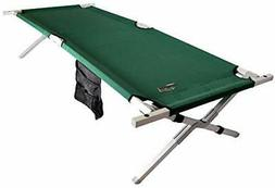 BYER OF MAINE Military Cot, Folding cot, Reinforced Aluminum