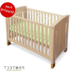 Mosquito Net for Crib - Baby Crib Net to Protect from Insect