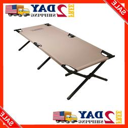 NEW Coleman 765353 Trailhead II Military Style Camping Cot