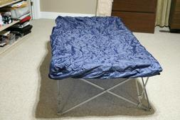New Twin Size Air Mattress / Cot  Combo With Electric Pump w