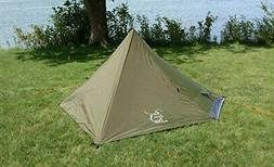 River Country Products One Person Trekking Pole Tent, Ultral