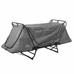 Original Tent Cot Camping Bed for 1 Person grey - Kamp-Rite
