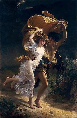 Pierre Auguste Cot, The Storm, 1880, European Art Museum Pos