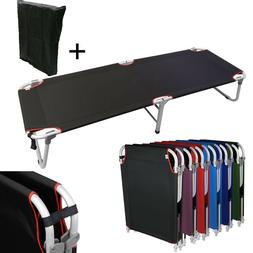 """Portable 24.5""""W Military Cots Fold Up Bed Hiking Fishing Tra"""