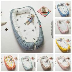 Portable Baby Nest Bed Crib Travel Newborns Cots Nursery Sle