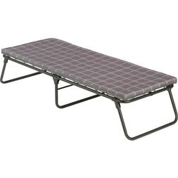 Sleep Over Guest Cot Day Bed Folding Steel Frame Thick Foam
