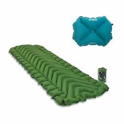 Klymit Static V Green Inflatable Sleeping Pad + X Large Infl