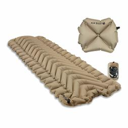 Klymit Static V Recon Sleeping Pad Travel Mat w/ Pillow X Re