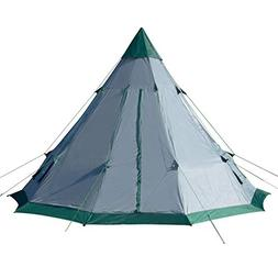 Winterial 6-7 Person Teepee Tent, 12' x 12' for Family Campi