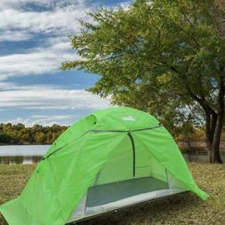 Portable Outdoor Camping Tent  Double Layer Off-Ground Water